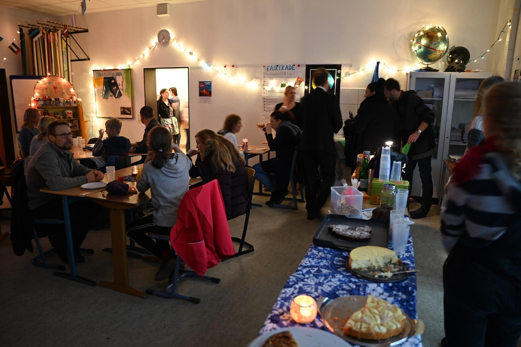 Auch 2019 wieder: das Fair-Café zur Lesenacht