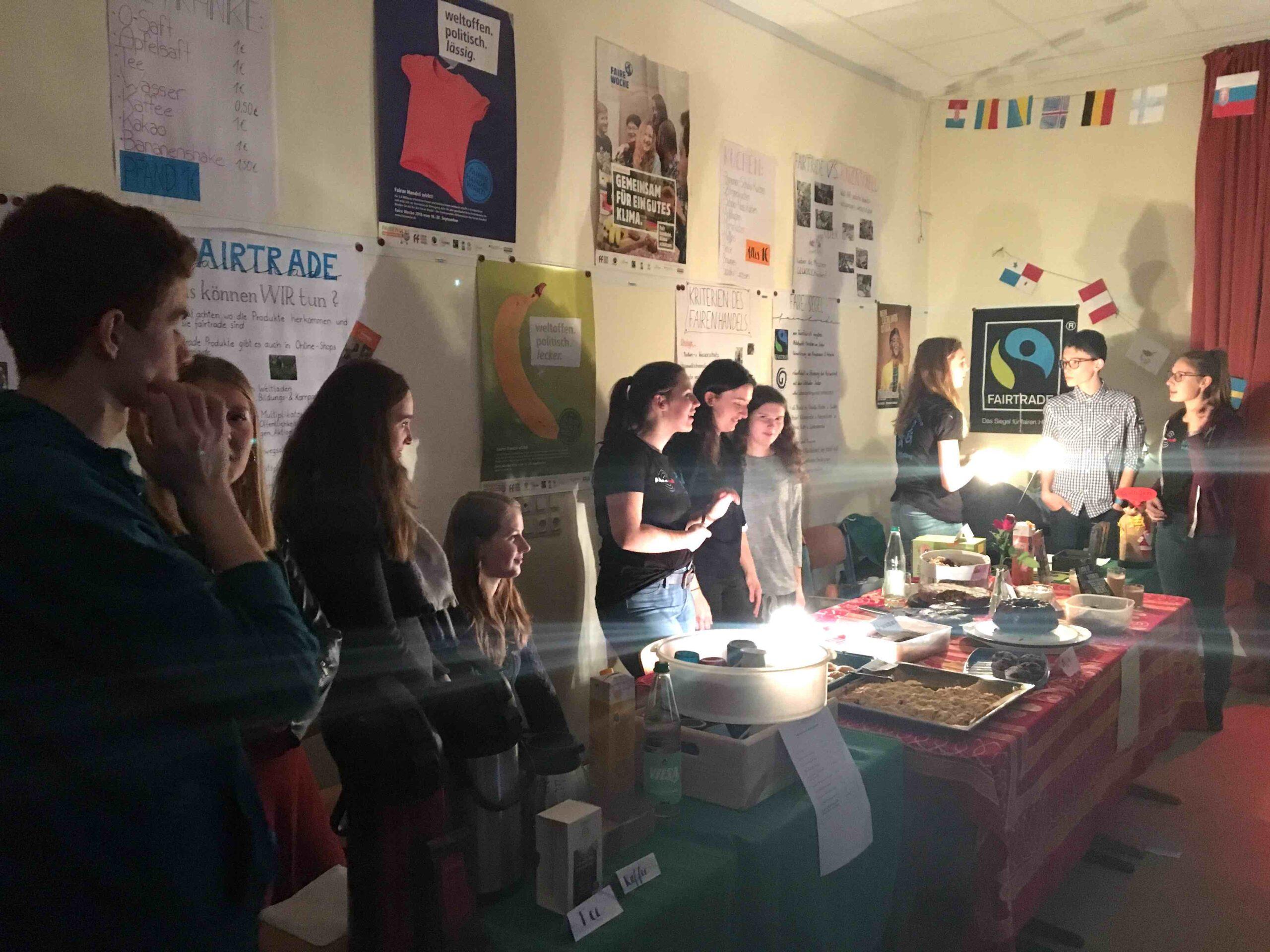 WPK organisiert faires Café zur Lesenacht 2018