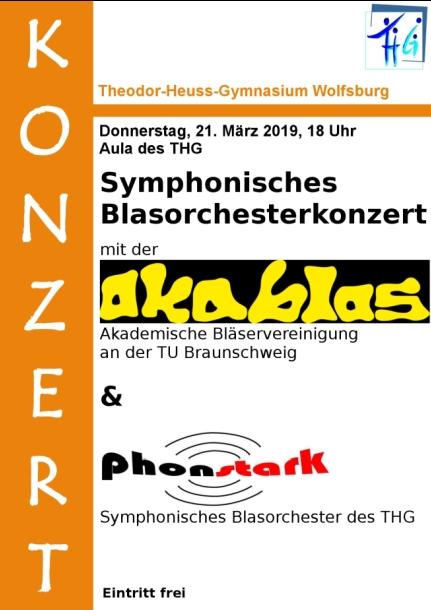 Symphonisches Blasorchesterkonzert mit Akablas und phonstark