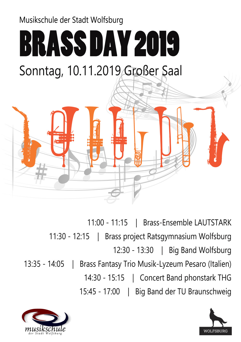 phonstark beim Brass Day an der Musikschule Wolfsburg