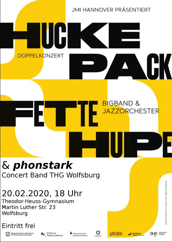 """Huckepack: Big-Band-Doppelkonzert von """"phonstark"""" und der """"Fetten Hupe"""""""