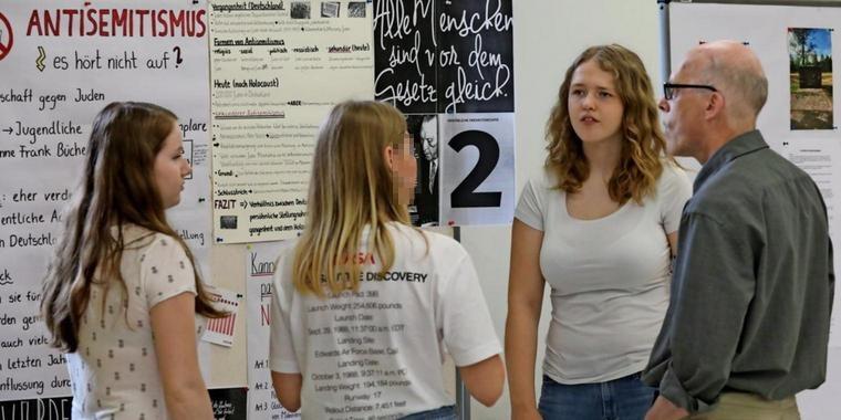 Anne-Frank-Ausstellung am THG