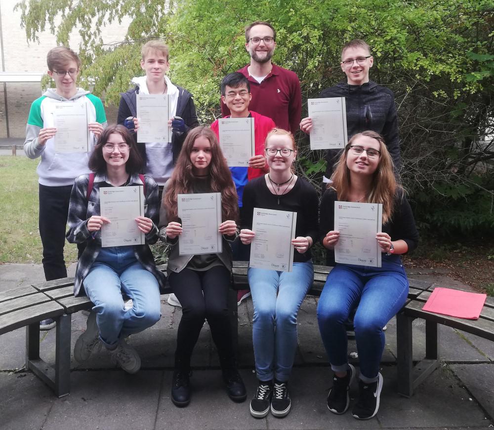 Cambridge English – Alle Prüflinge haben bestanden!