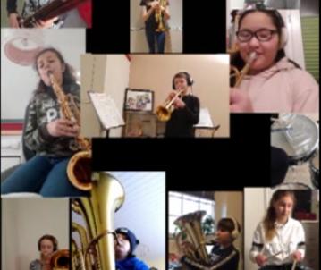 Bläserensemble 6 im Video (15.03.2021)