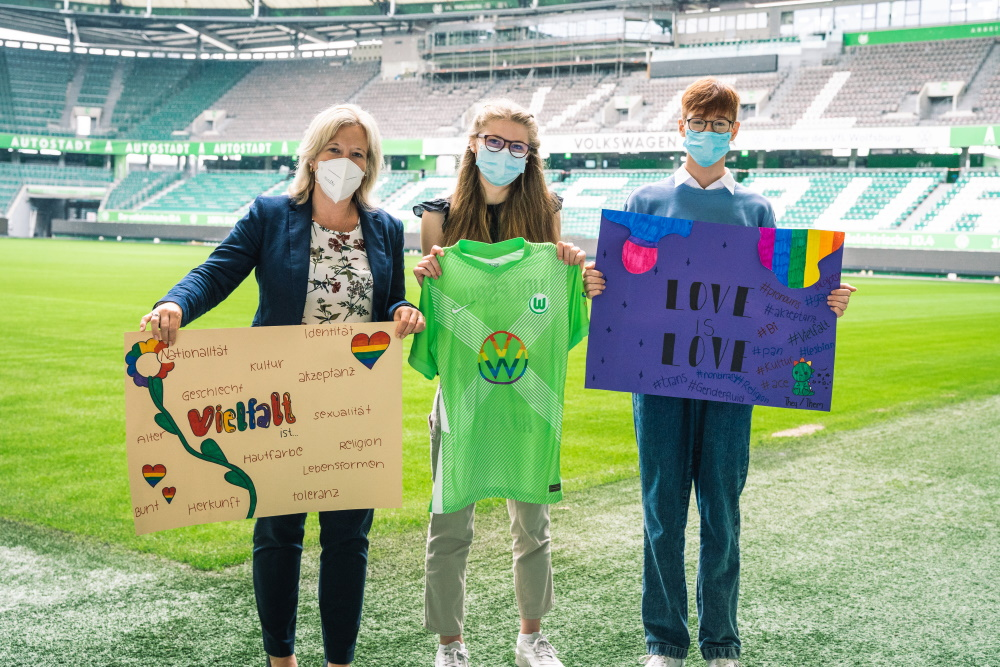 """VfL-Projekt """"Vielfalt"""" der 9d"""
